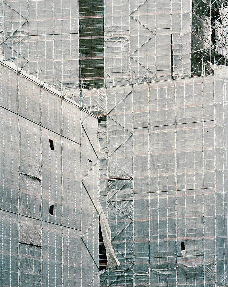 »Neubau VBG Hauptverwaltung, Drosselstraße, 2016« aus »Hamburg Barmbek Nord. Versuche einer Begegnung«